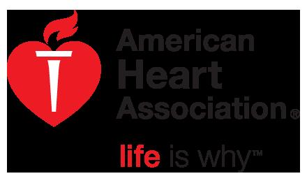 Using american heart association logo — 1