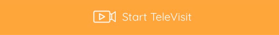 A screenshot of the orange start television button in the Healow App